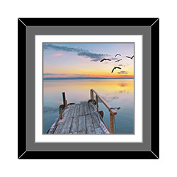 10 Inches By 14 Inches Double Mat Frame