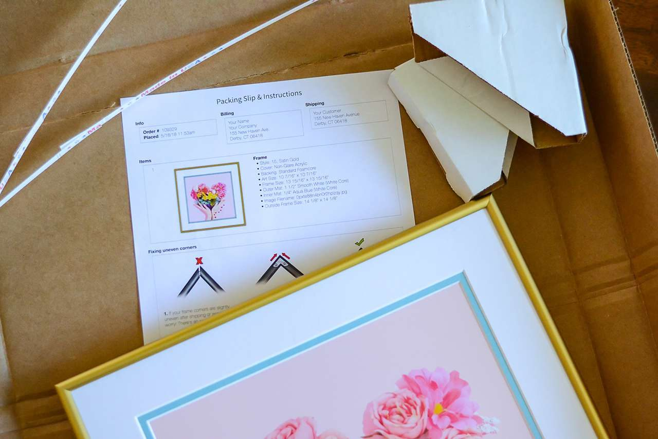 Frame It Easy - online custom picture framing that is easy, fast, and affordable