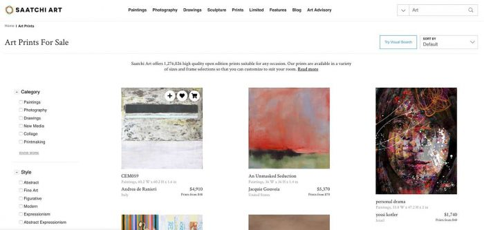 Find art online at Saatchi Art