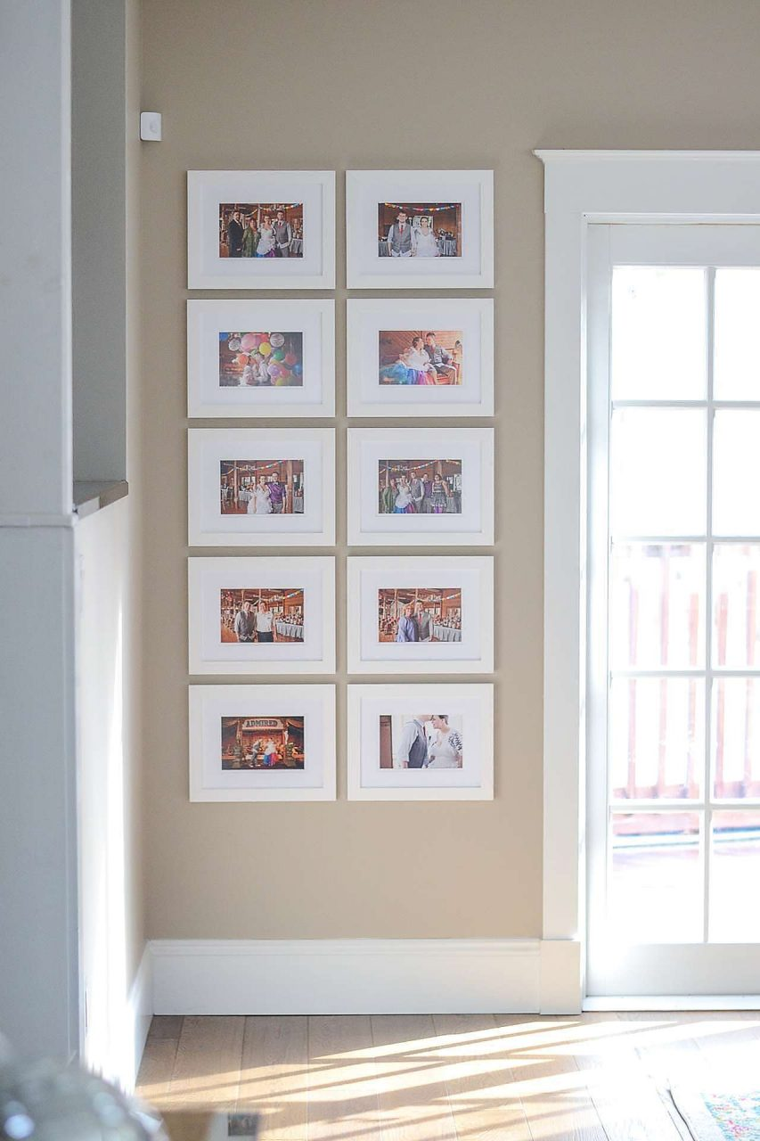 White picture frame gallery