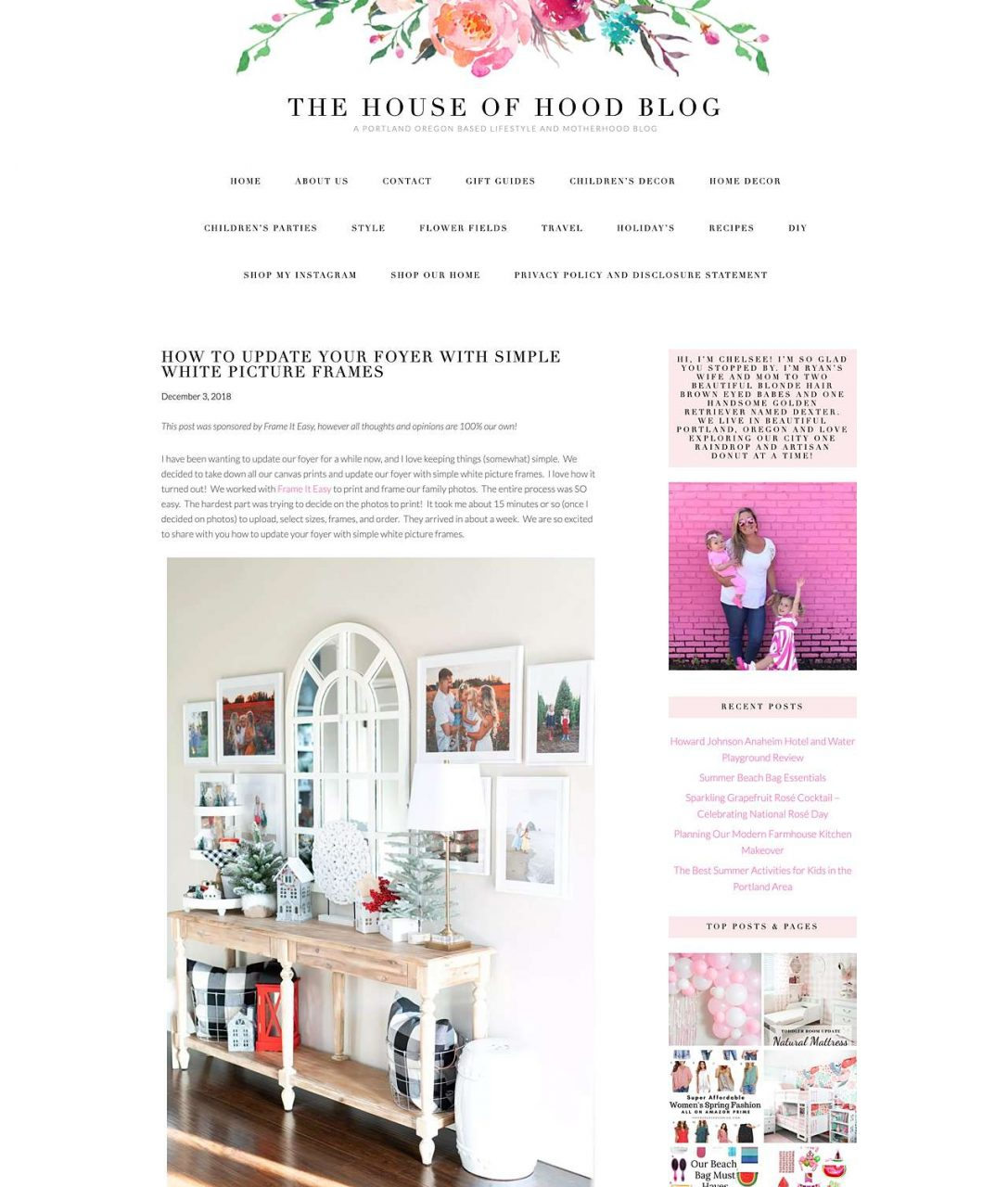 House of Hood website