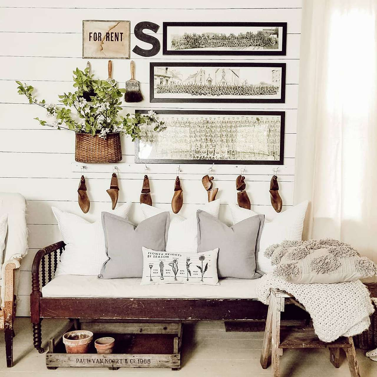 industrial farmhouse black picture frames