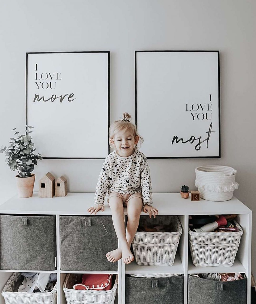 Picture frame quotes with child