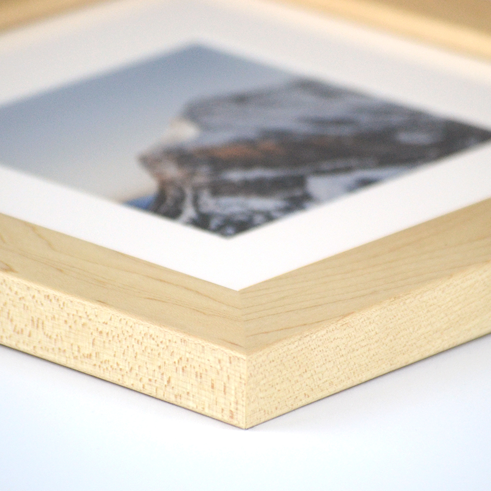 Dayton natural wood frame from Frame It Easy