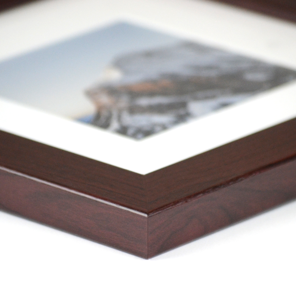 Derby finger-jointed poplar wood picture frame from Frame It Easy