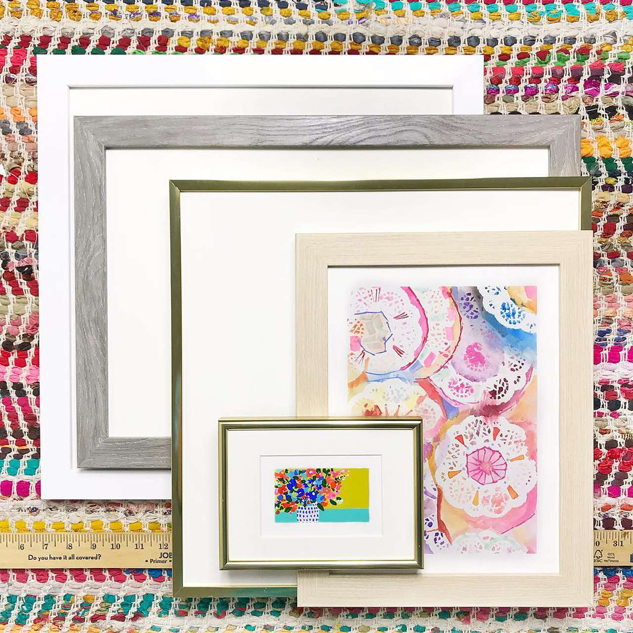 Buy any size custom picture frame online