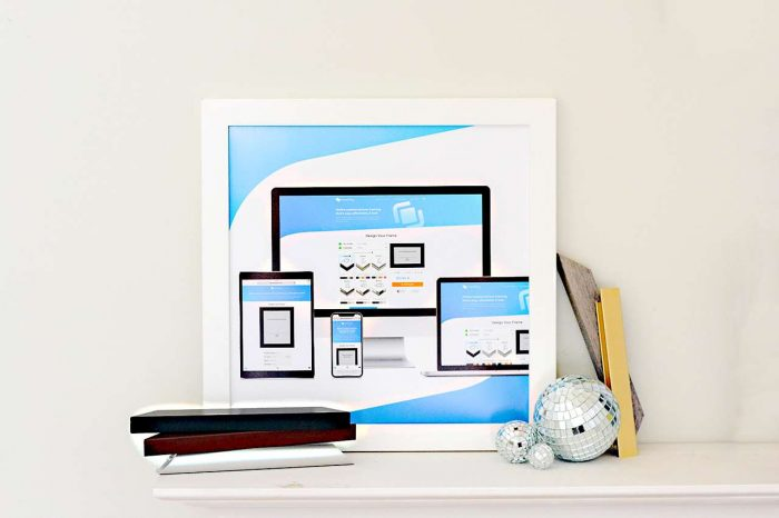 Buy custom picture frames online with Frame It Easy