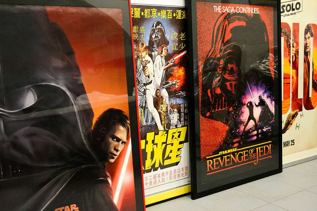 Frame movie posters