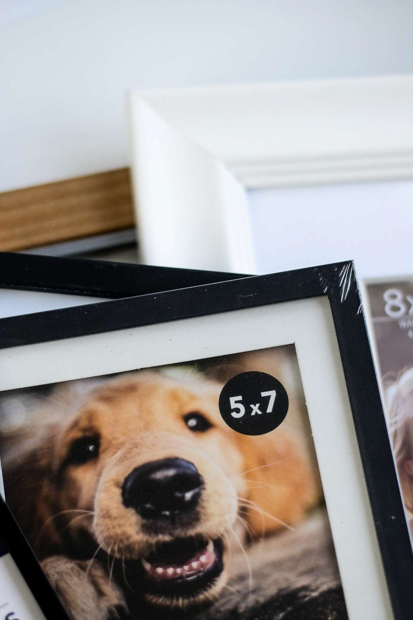 Store Bought Picture Frame
