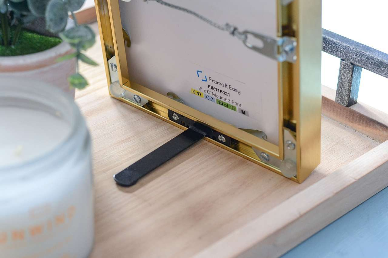 Frame It Easy EaselMate for tabletop picture frame