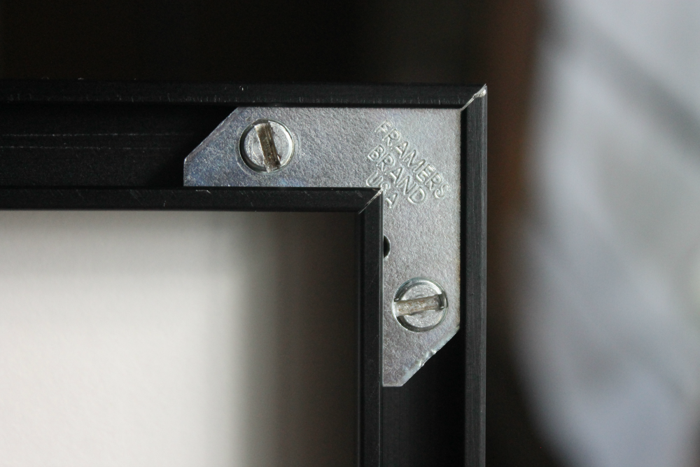 Metal Picture Frame Taped Plates