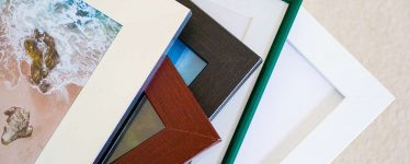 Custom picture frames from Frame It Easy
