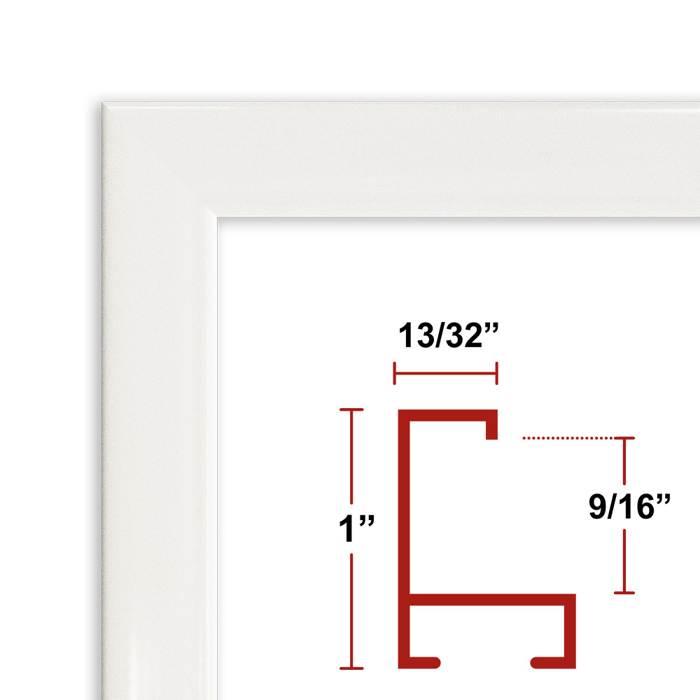 93 White Picture Frame