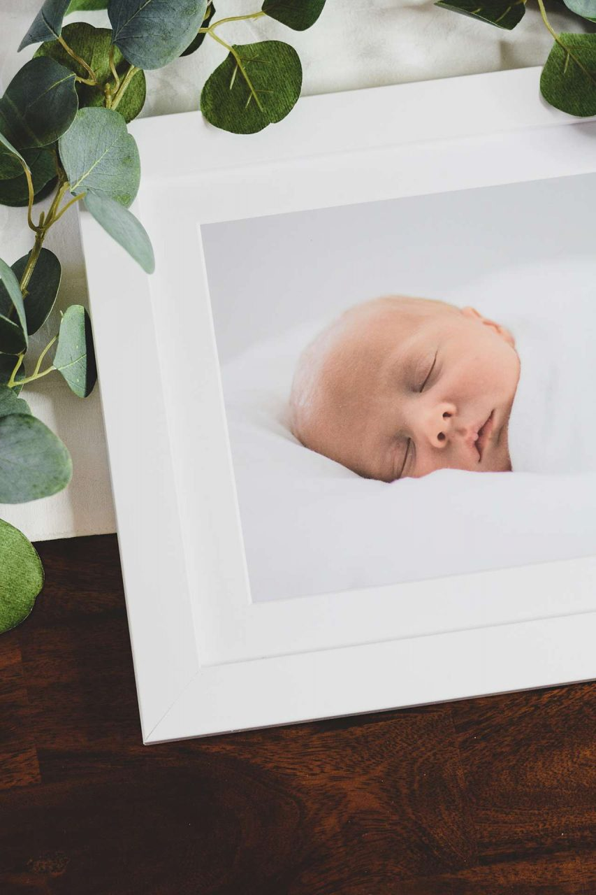 71 White Wood Picture Frame