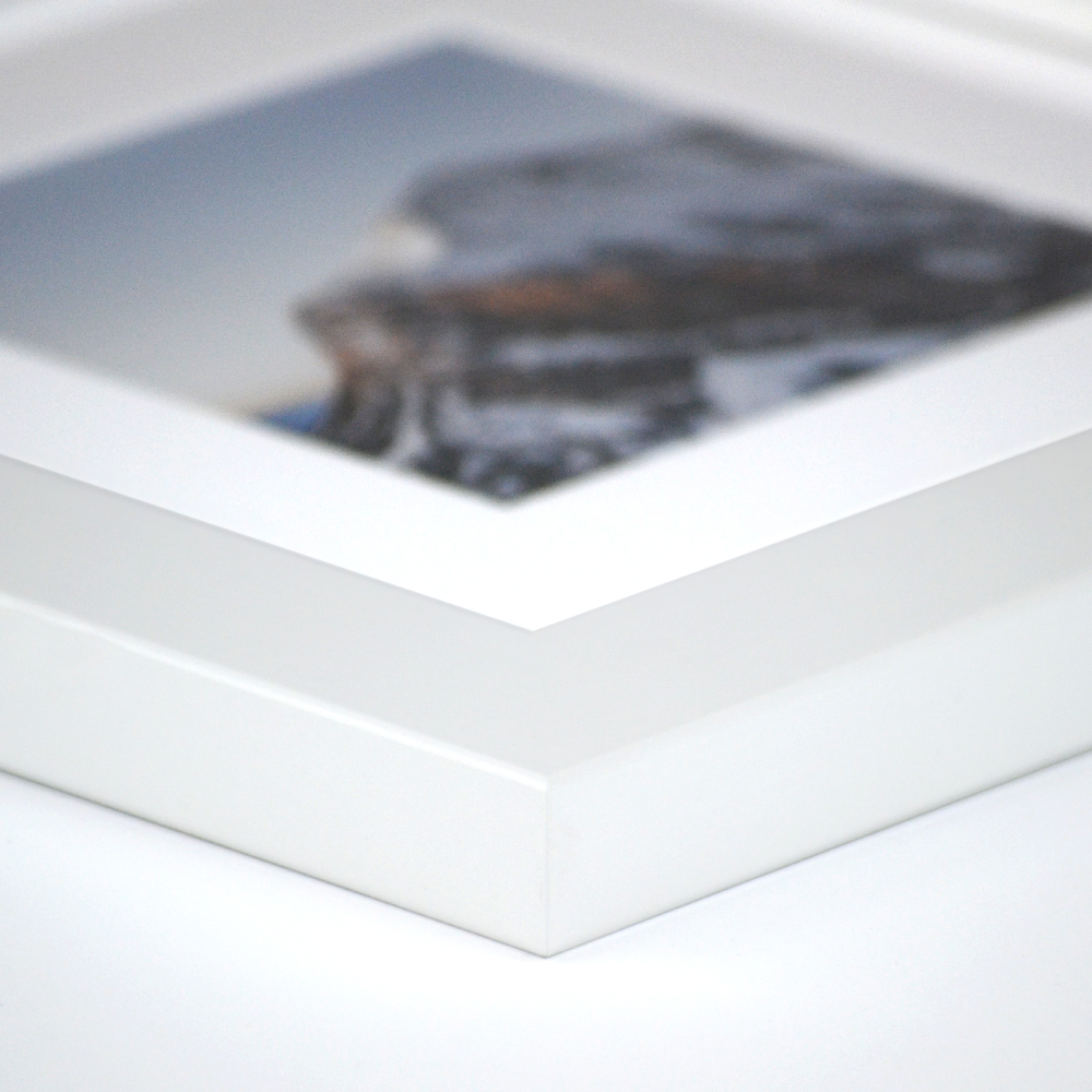 derby white picture frame from frame it easy