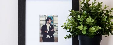 Father's Day Gift Idea Black Picture Frame