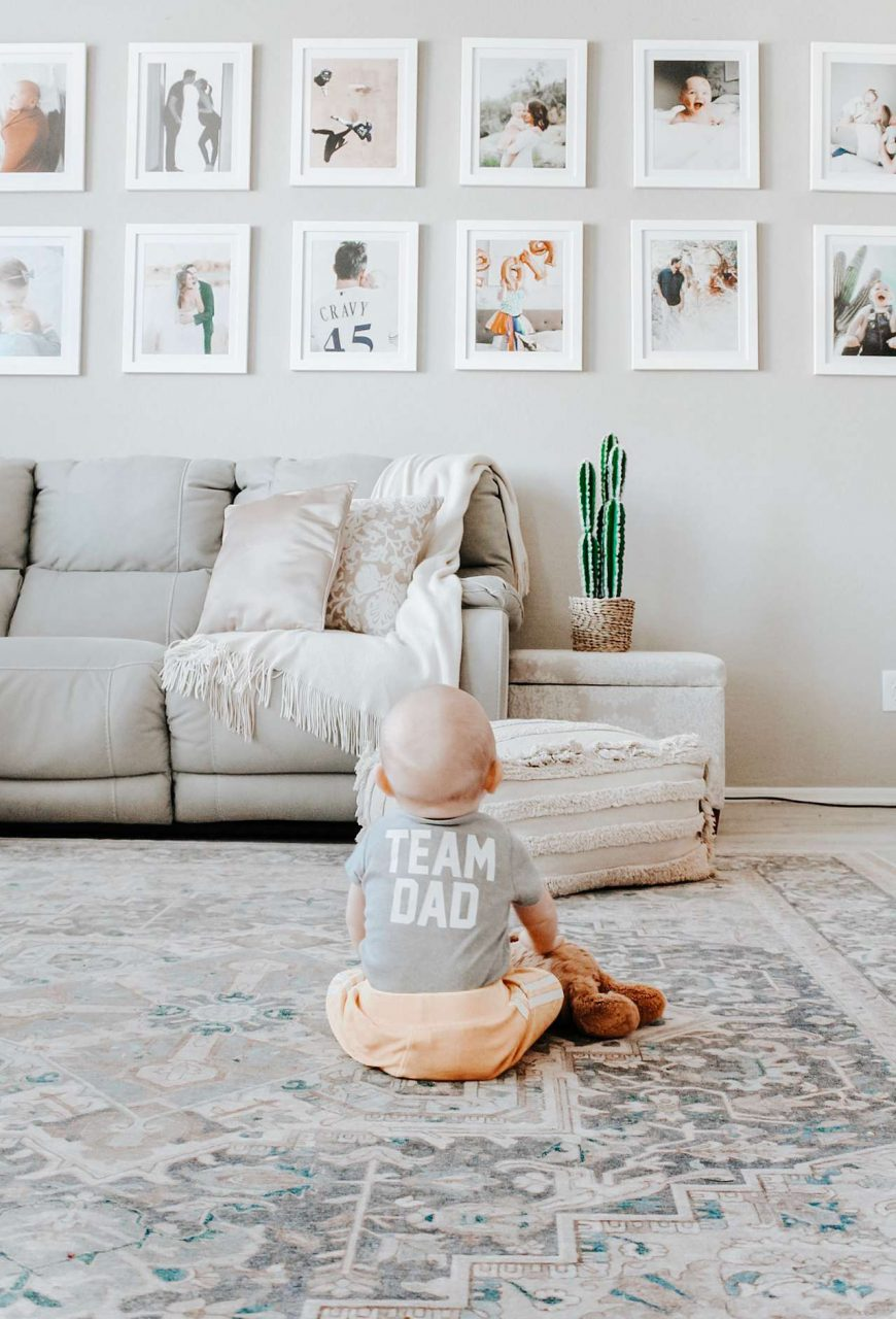 Father's Day Gift Idea - Framed Gallery Wall