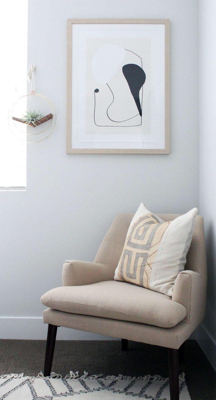 wood art poster frame