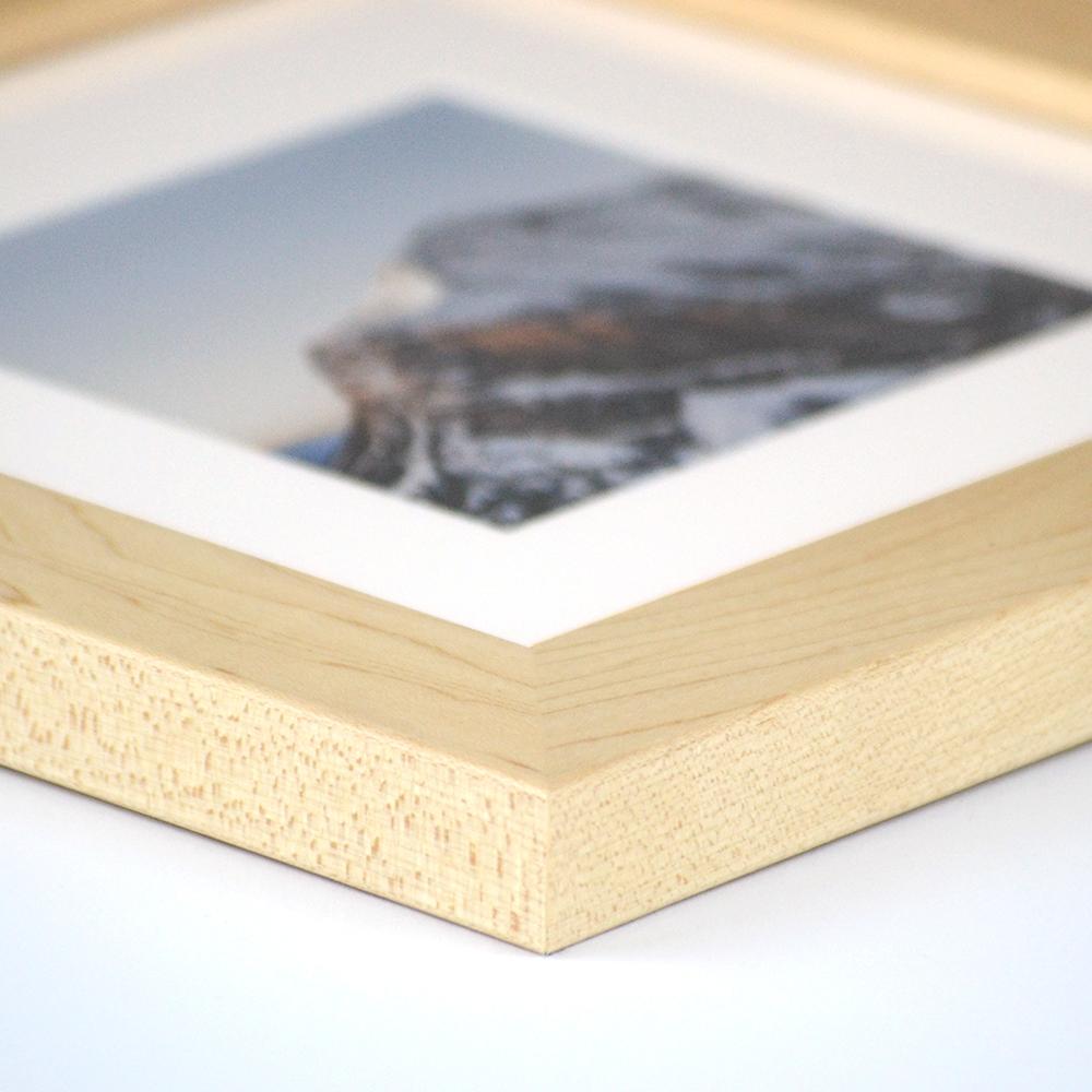 Dayton natural wood frame from Frame It Easy