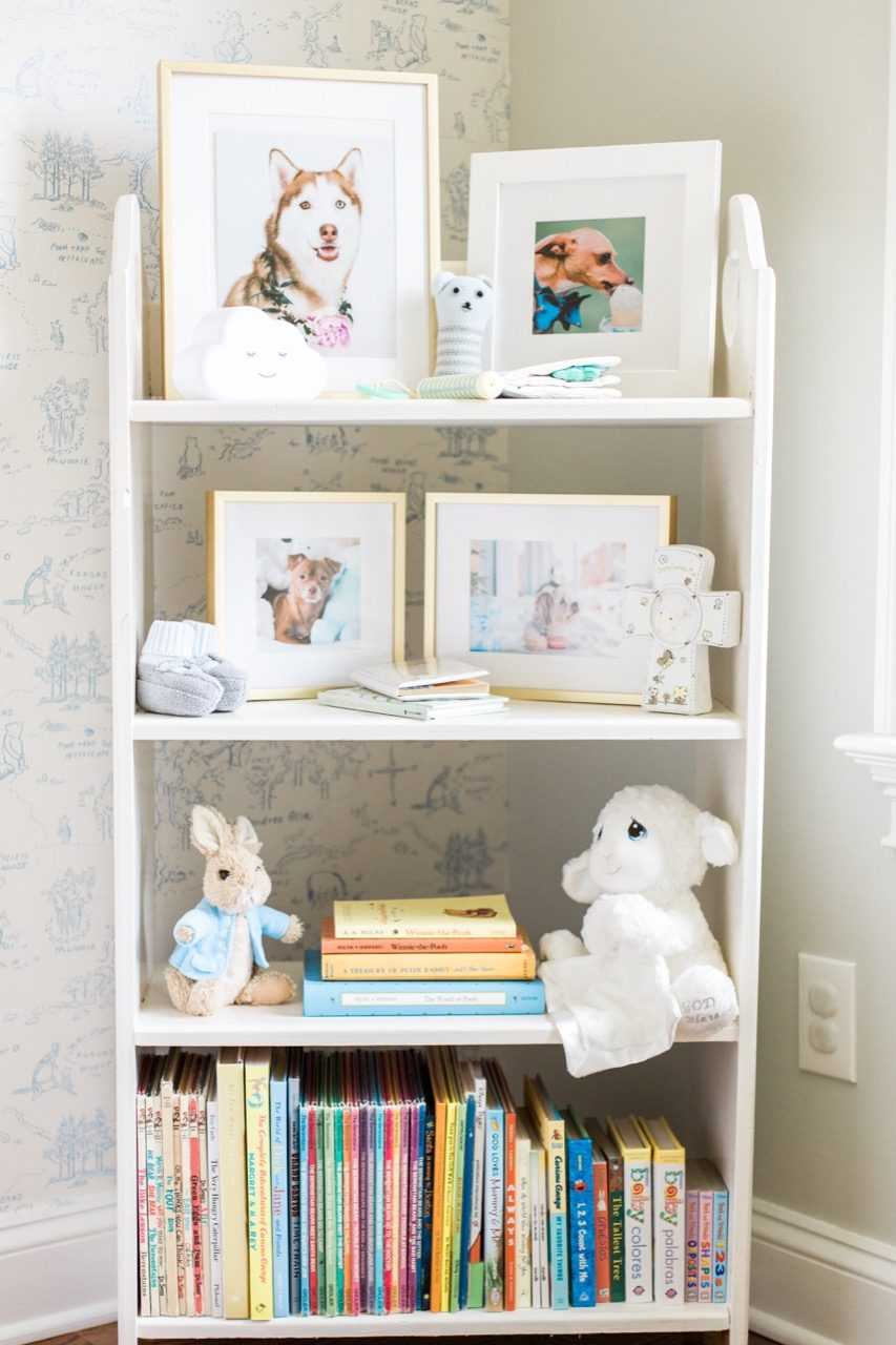 kids' room bookshelf