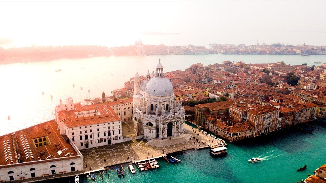 overlooking Venice