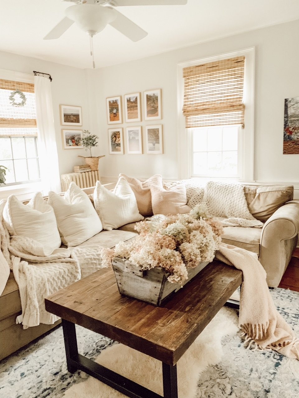 Large living room decor