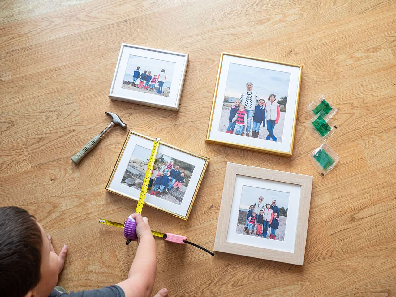measure a picture frame