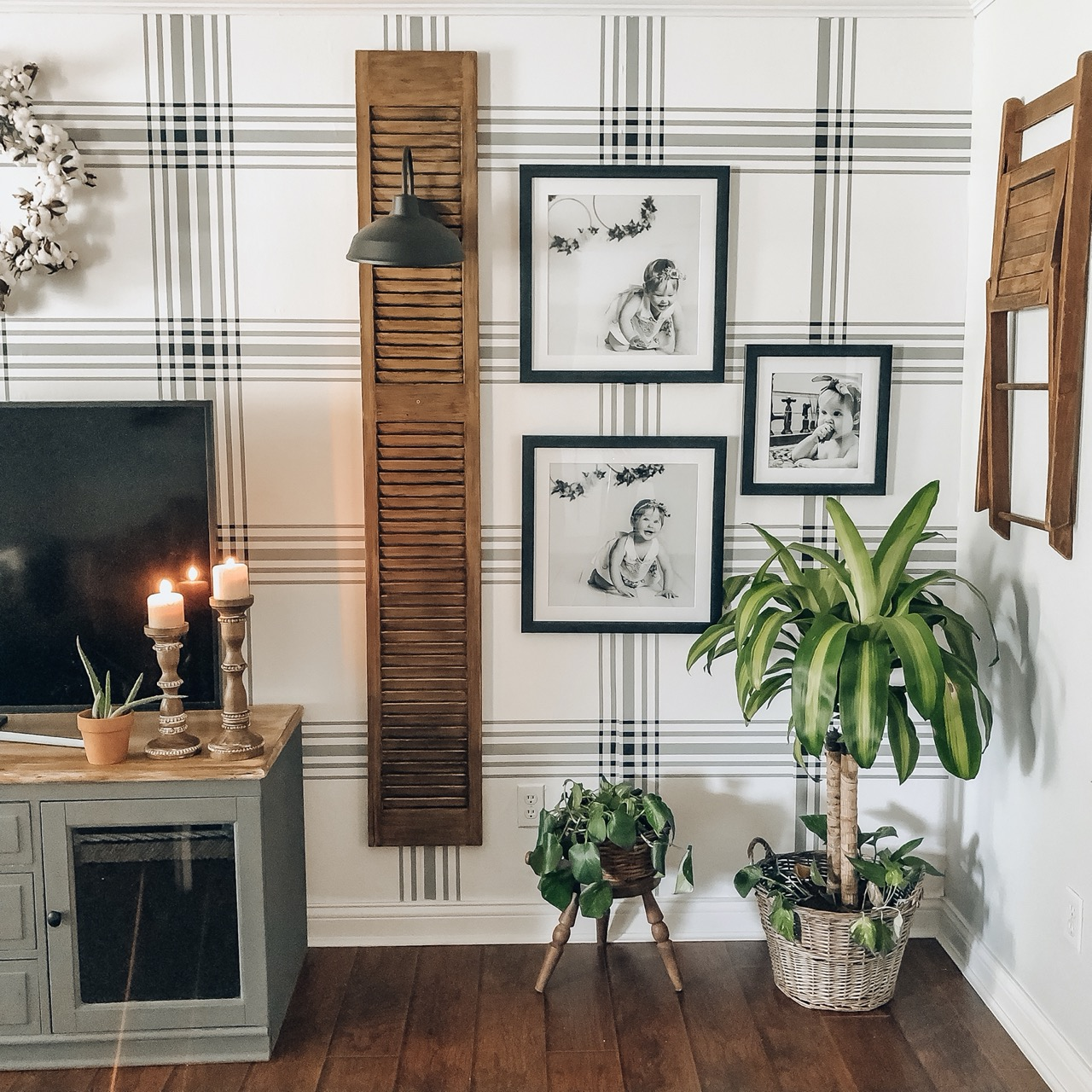 wall space for frames