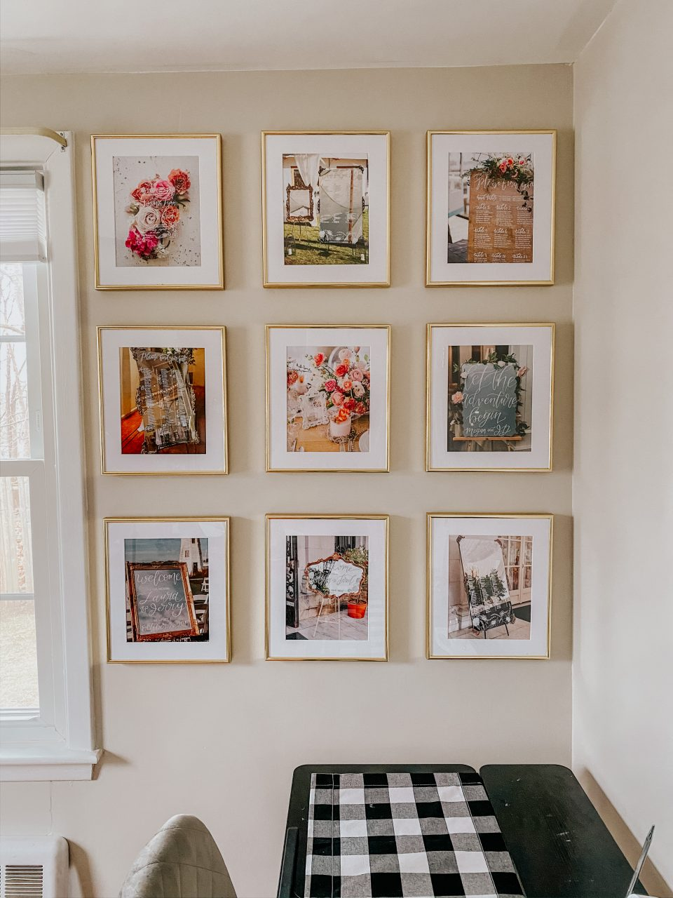 Spring colors for wall decor