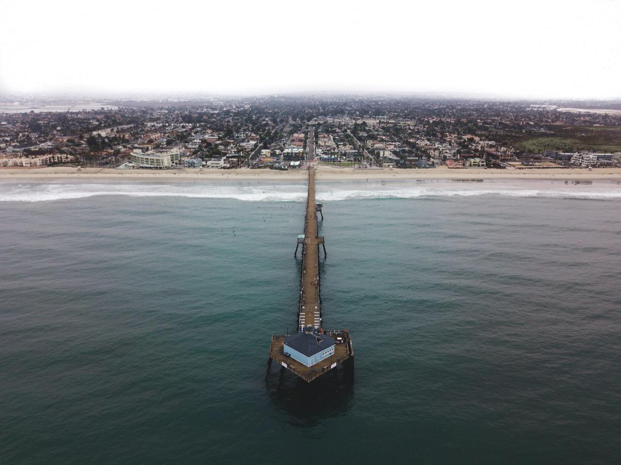 Imperial beach in California