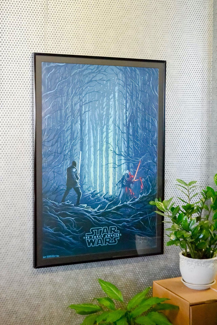 Large movie poster