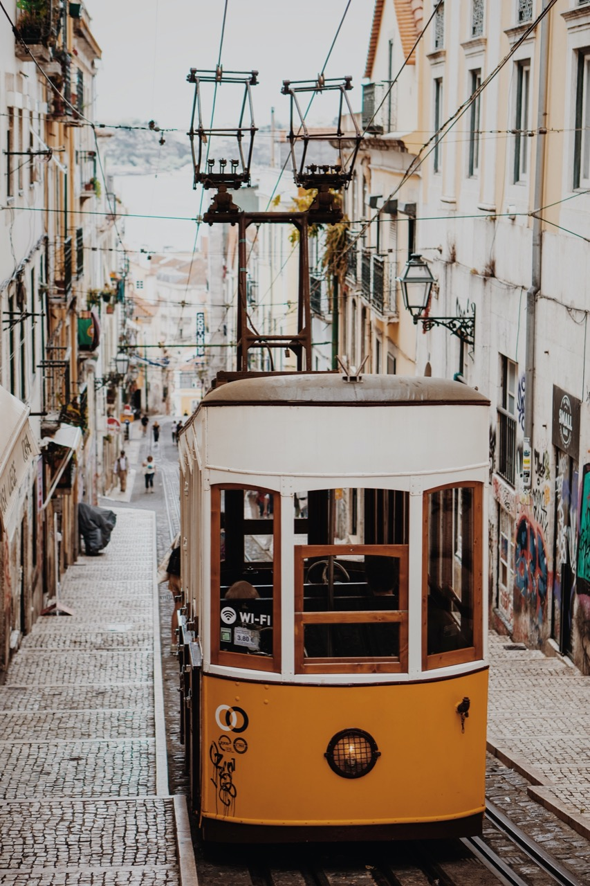 Travel photography- cable car