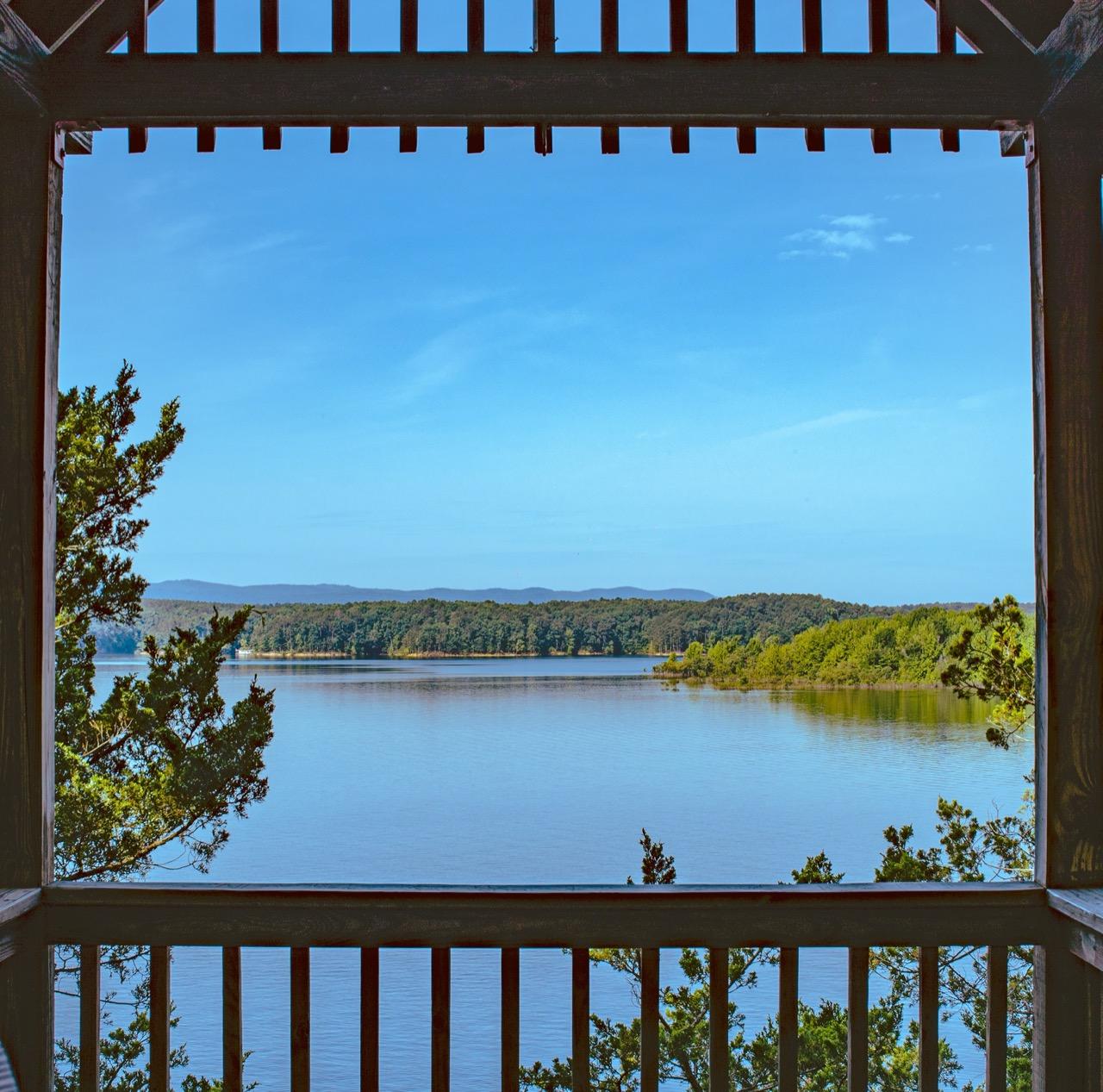 Lake in Arkansas