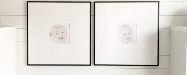 Small pictures with large matting