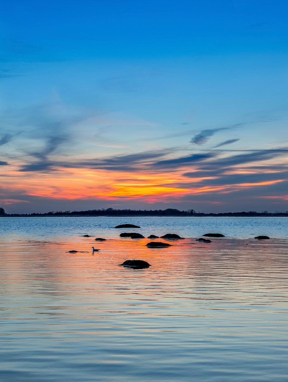 Shoreline in Connecticut