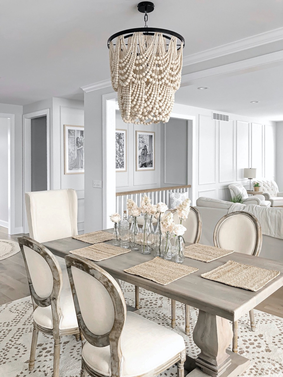 Dining room/ living room decor
