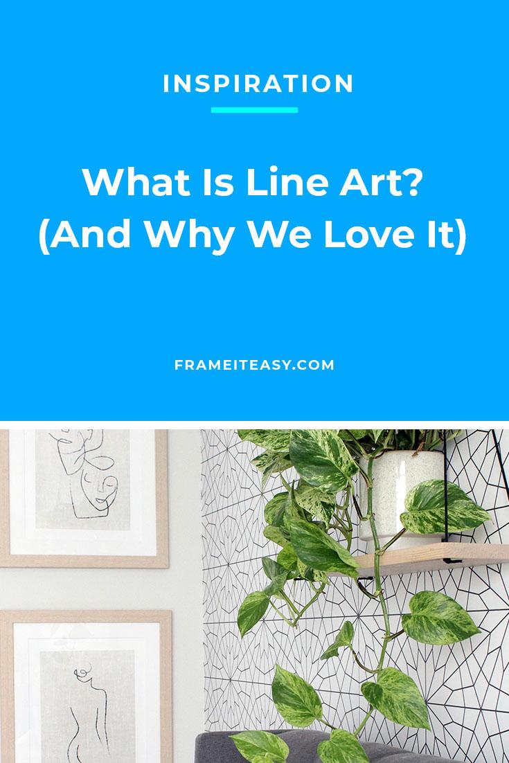 Line art Pinterest