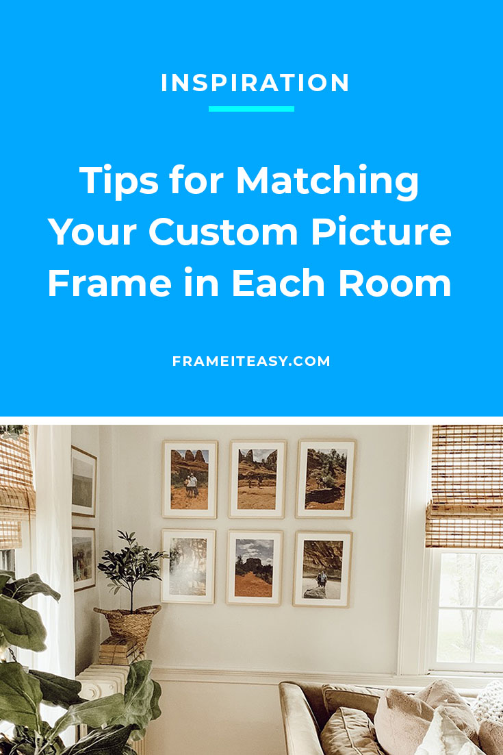 Creating Custom Frames pinterest