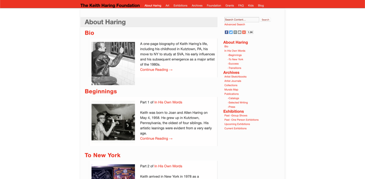About Keith Haring