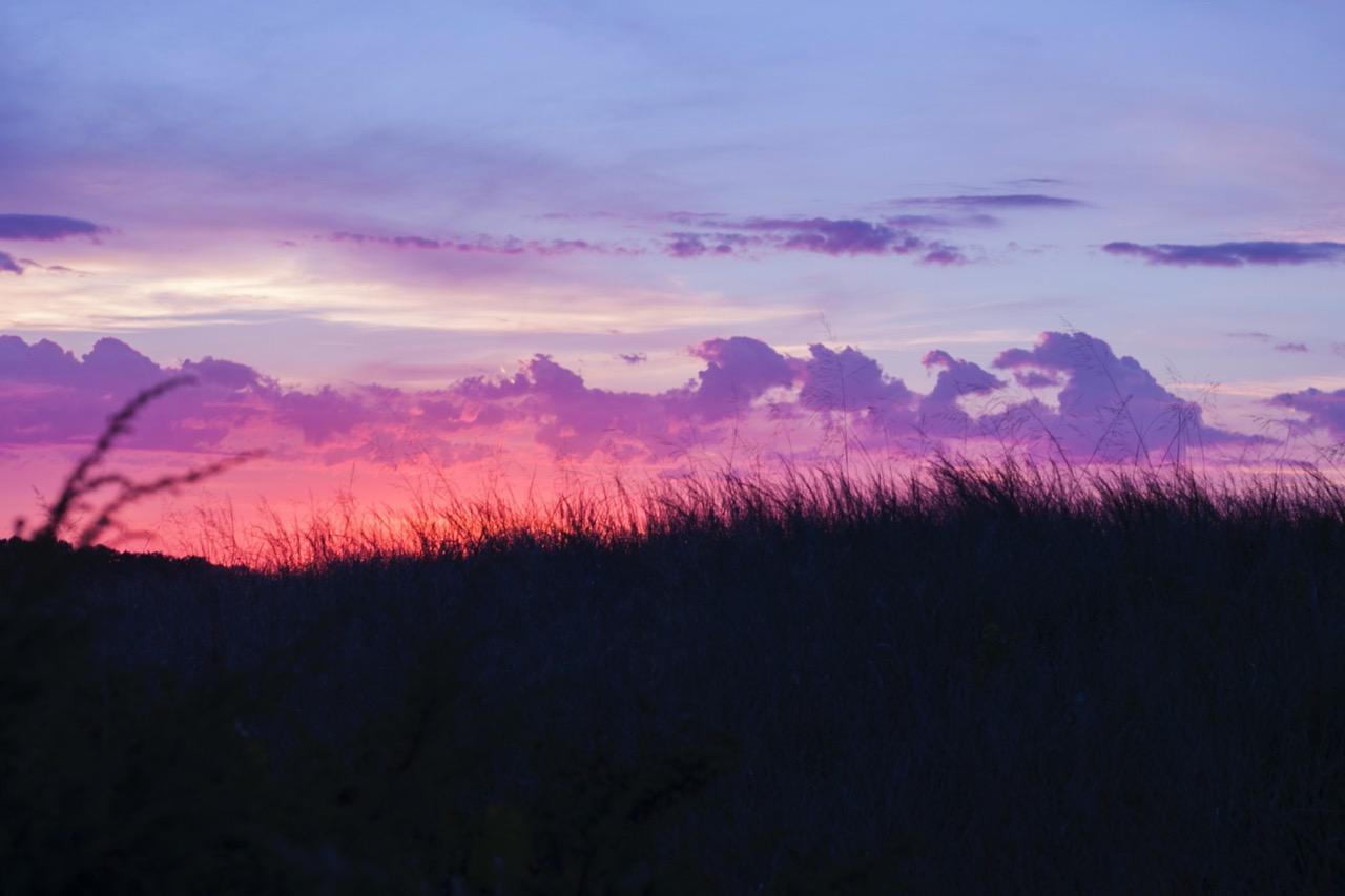 Sun set in Indiana