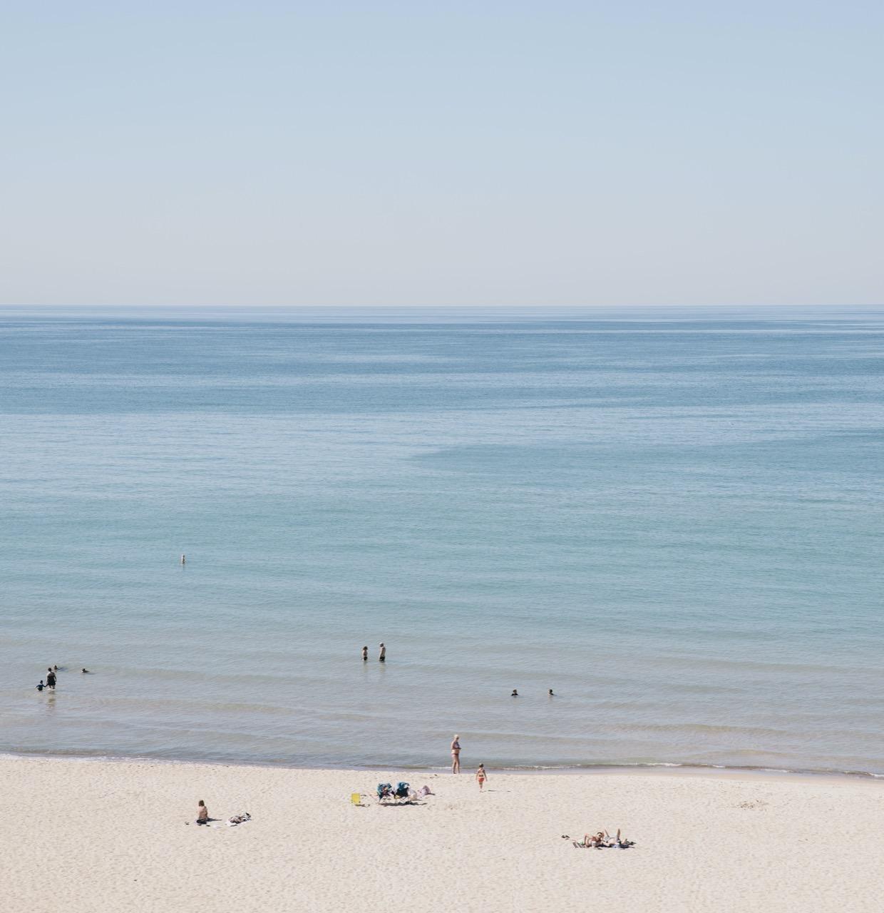 Beach in Indiana