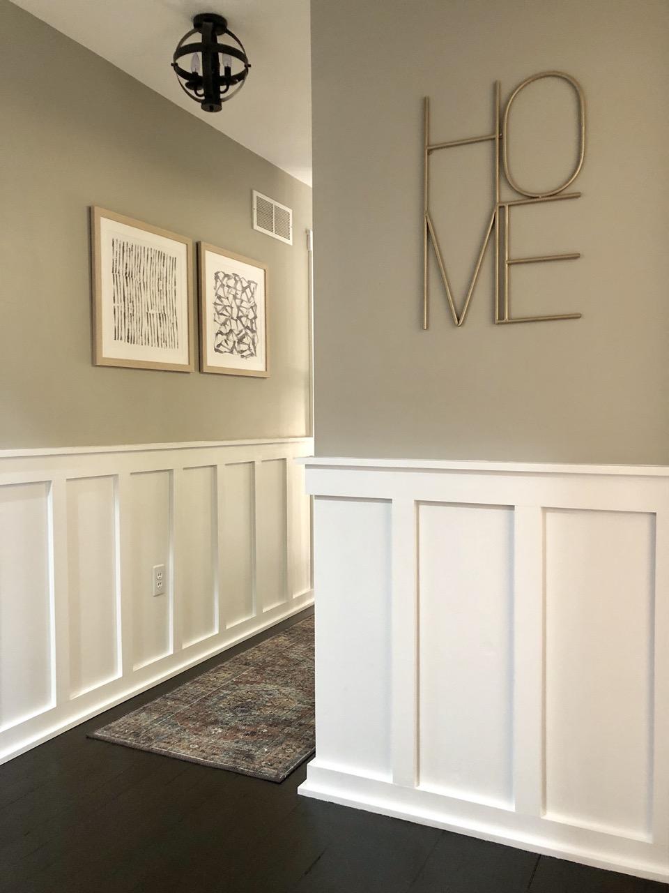 two hallway frames