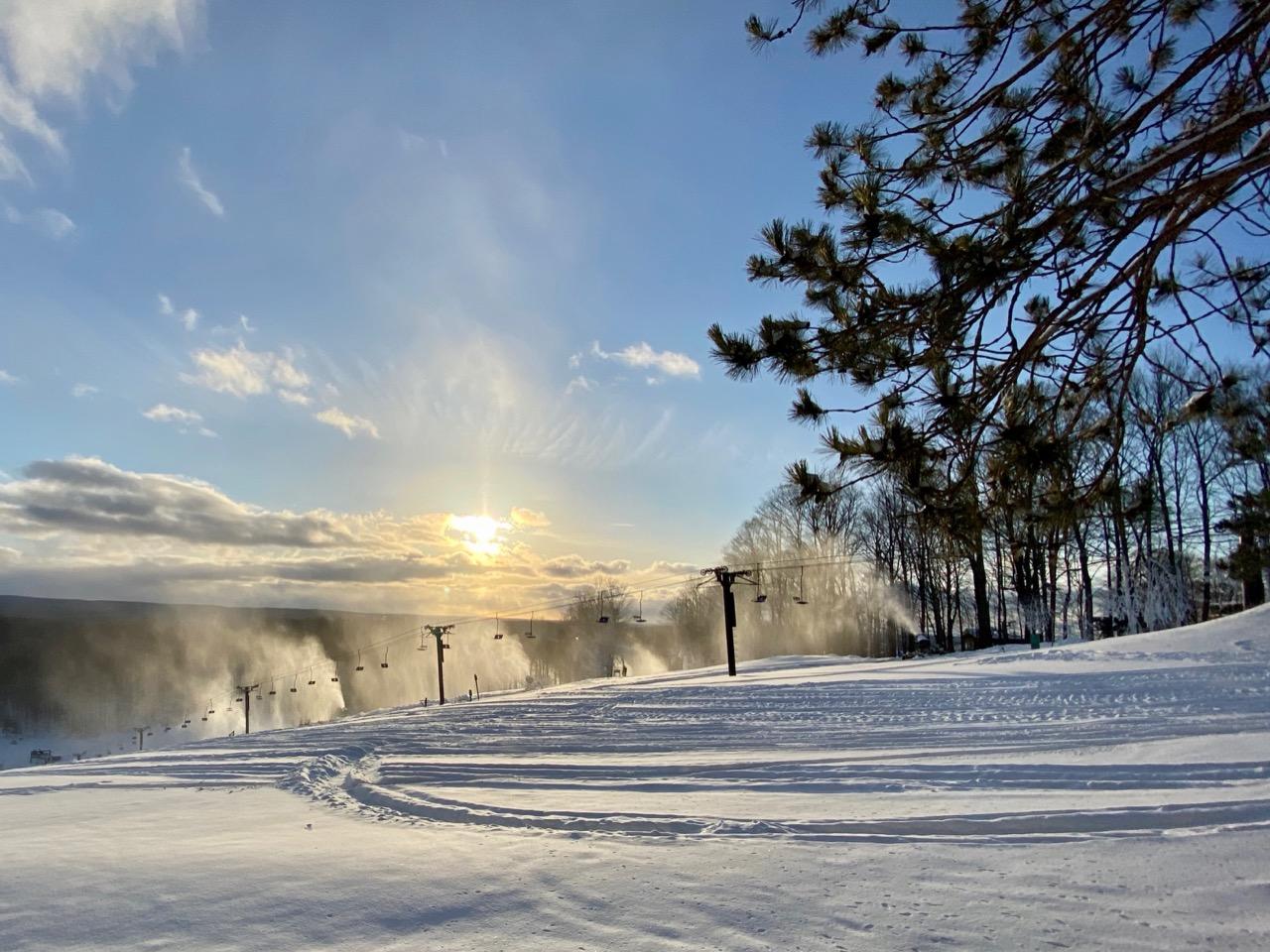 Snow Mountain in Michigan