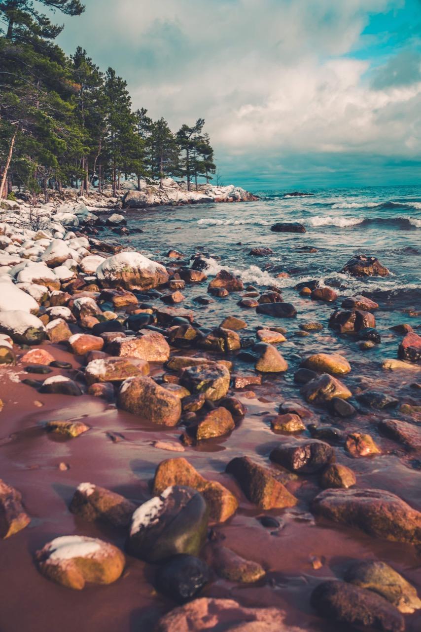 Lake in Michigan