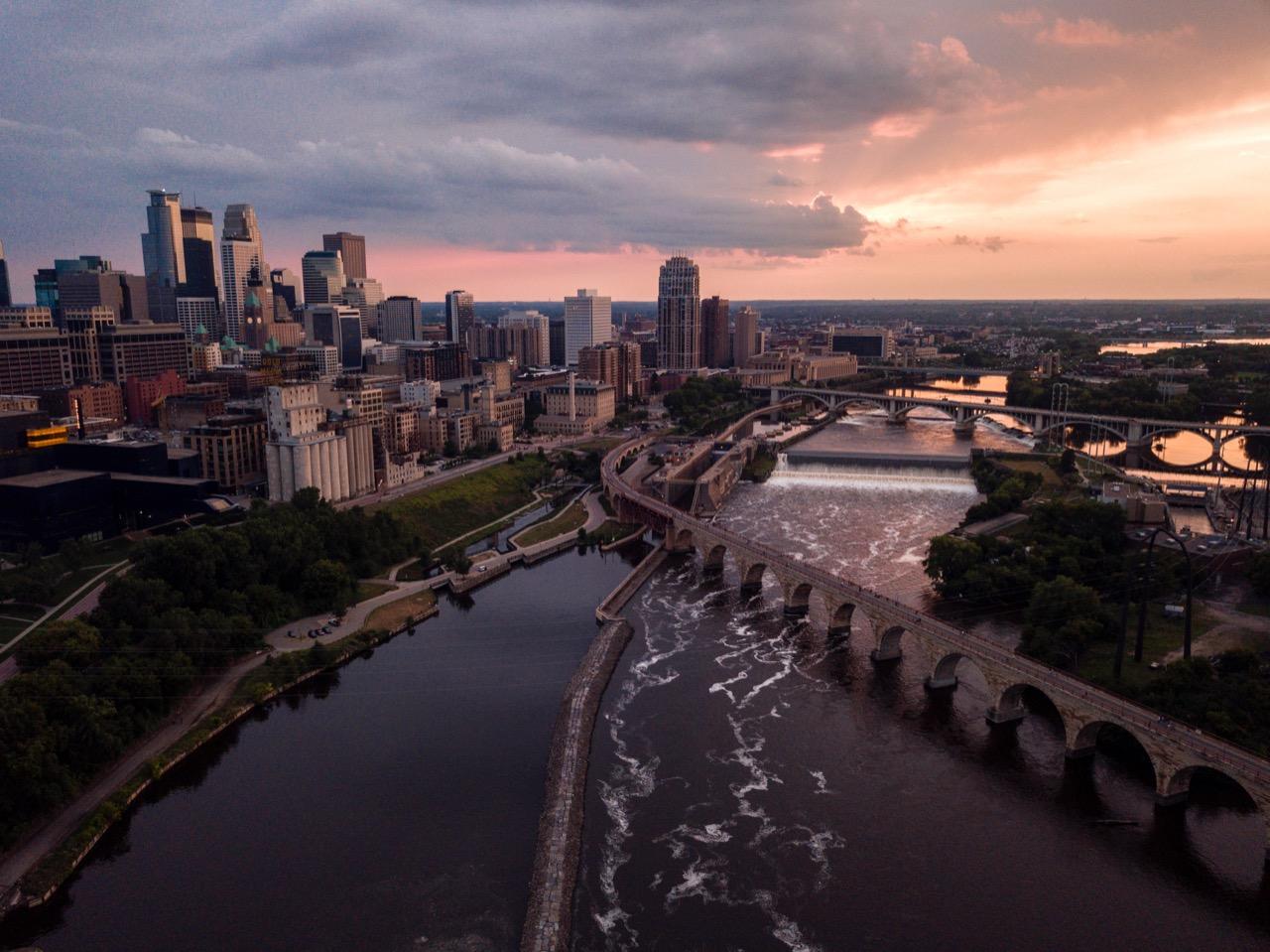 Above Minnesota