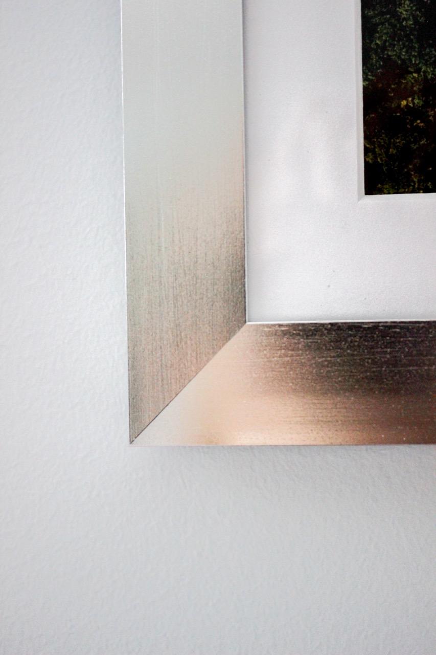 Close-up of metal frame