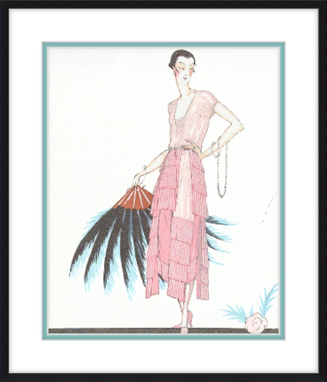 Framing Fashion Illustrations Frame It Easy