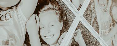 Large black and white photos