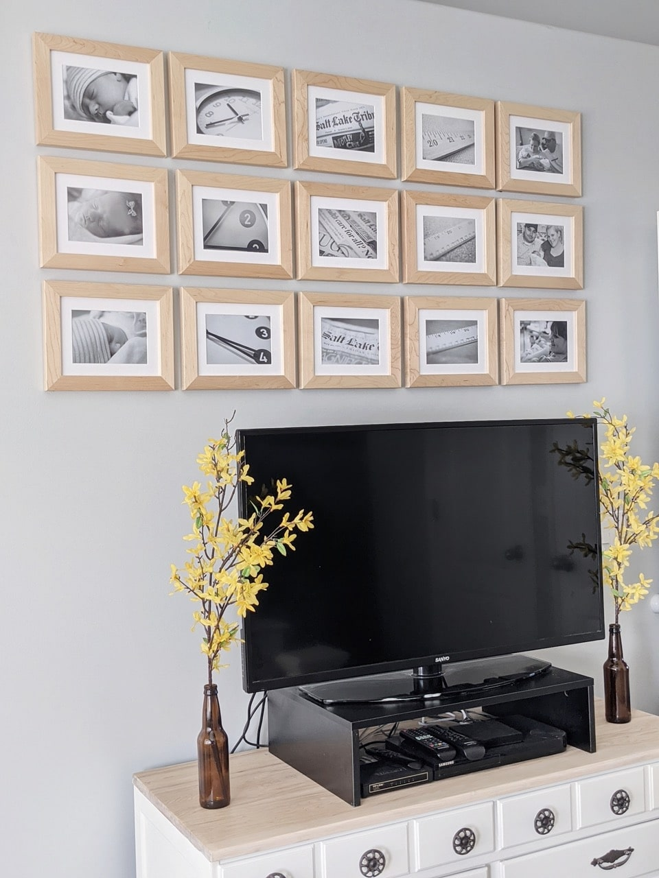 5x3 gallery wall