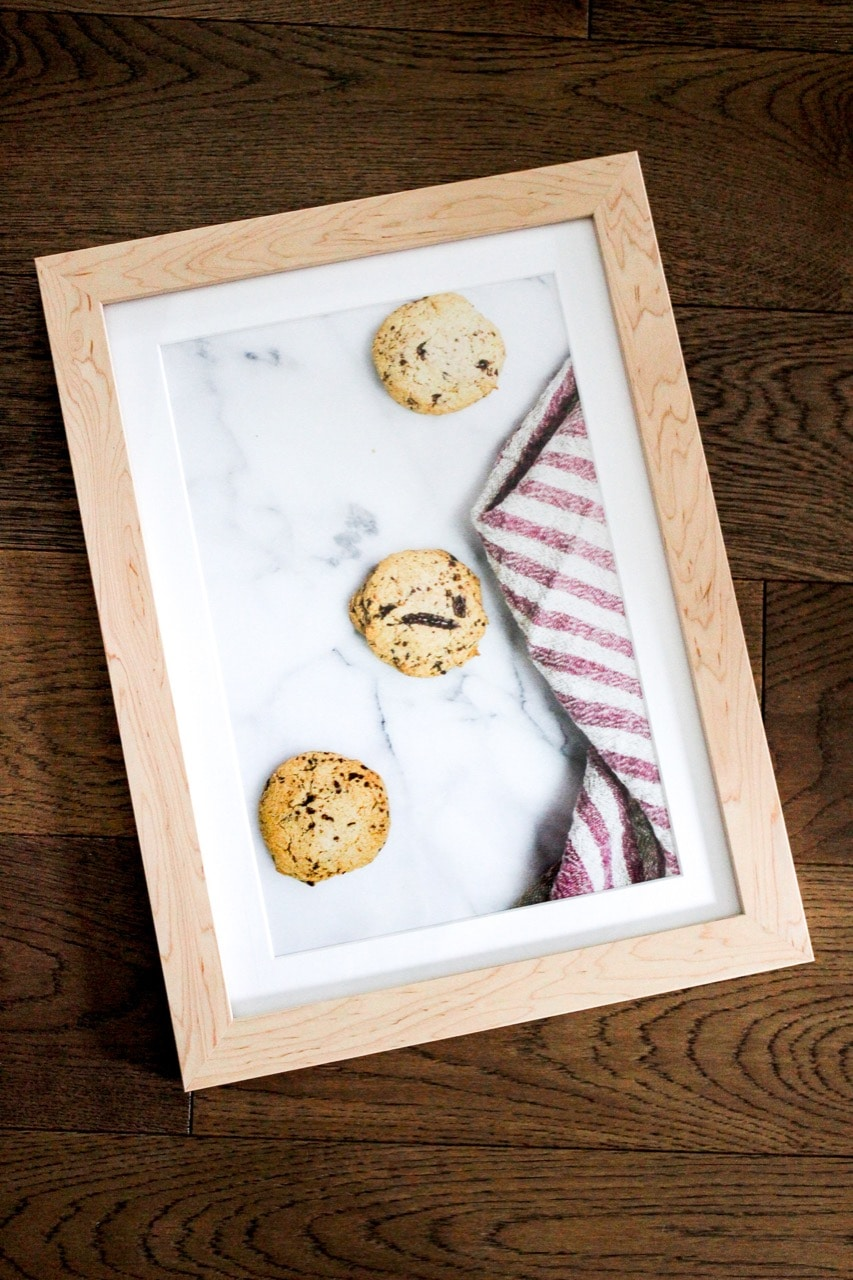 Framed cookies